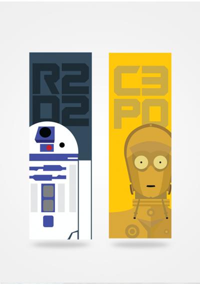 Star Wars - R2D2 e C-3PO